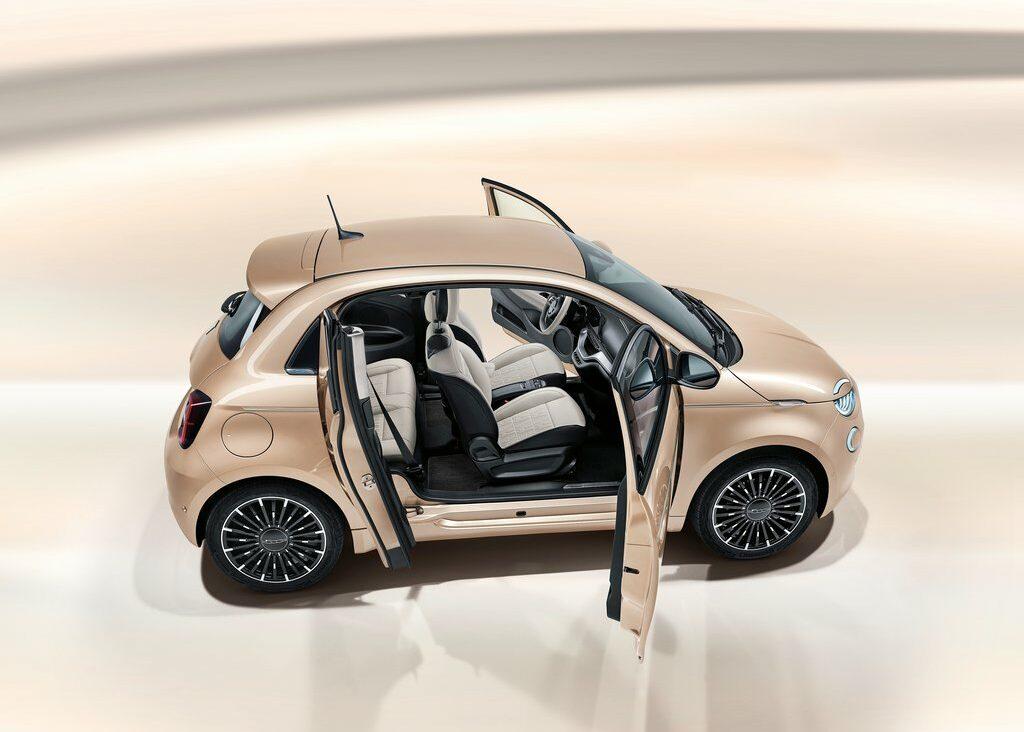 Fiat 500 électrique 3+1
