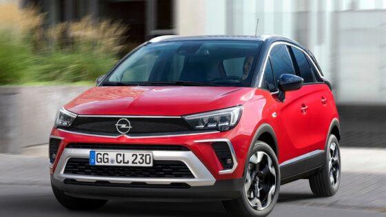 Opel Crossland 2021 calandre Vizor