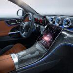 Mercedes Classe C 2022 console centrale