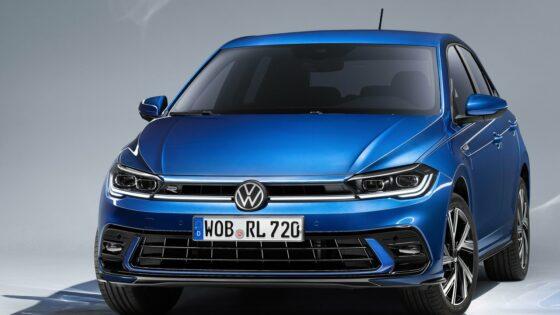 face avant Volkswagen Polo 2022